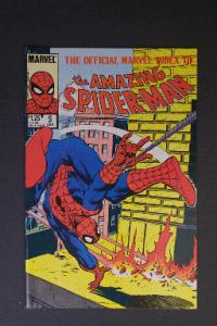 Official Marvel Index to Amazing Spider-Man #5 August 1985