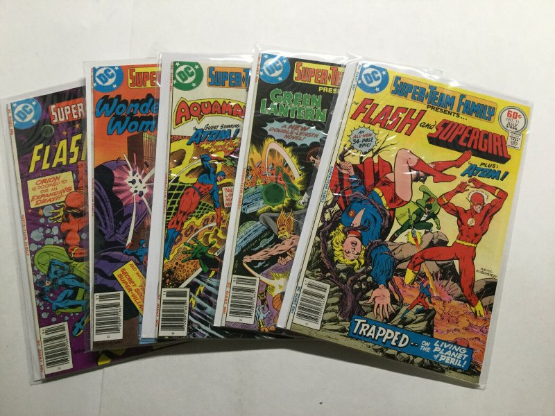 Super-Team Family 1-15 Complete Lot Run Set Vf/Nm Or Better Dc Comics