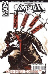 PUNISHER MAX (2004 Series) #70 Very Fine Comics Book
