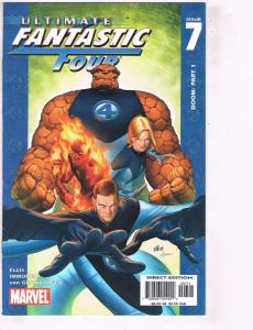 Lot of 7 Ultimate Fantastic Four Marvel Comic Books #7 8 9 10 11 12 13 BH28