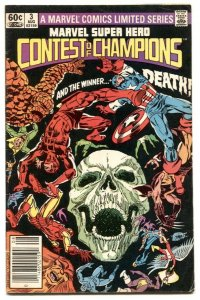 Marvel Super Hero Contest of Champions #3 Newsstand edition Marvel VG