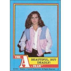 1983 Topps The A-Team BEAUTIFUL BUT DEADLY! #21