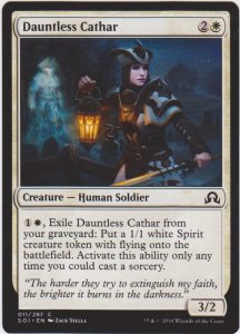 Magic the Gathering: Shadows Over Innistrad - Dauntless Cathar