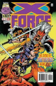 X-Force #59 VF; Marvel | save on shipping - details inside