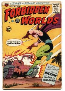 Forbidden Worlds #127 1965-ACG-Magicman-comic book