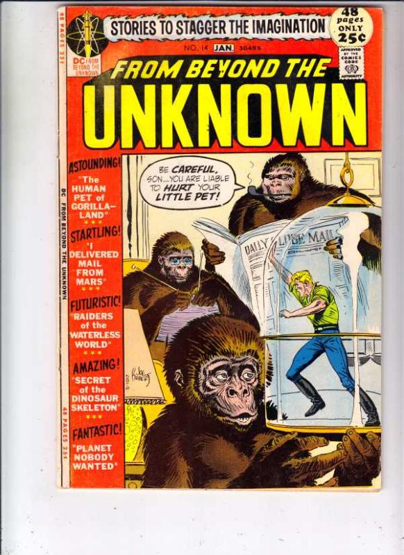 From Beyond the Unknown #14 (Dec-71) VF+ High-Grade