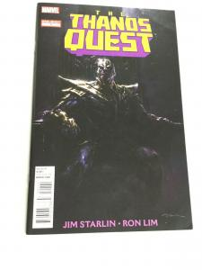 The Thanos Quest 1 One-Shot Vf Very Fine 8.0 Marvel