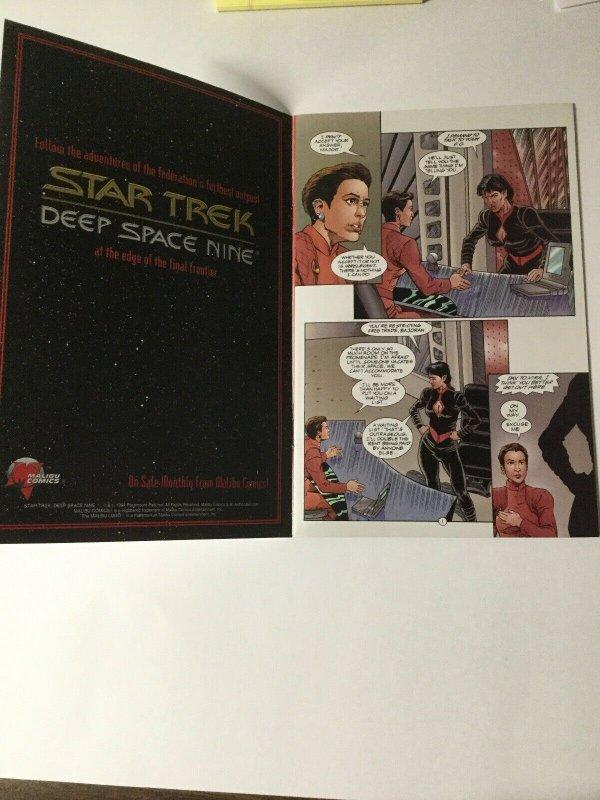 Star Trek Deep Space Nine 1 Near Mint Nm Signed Malibu