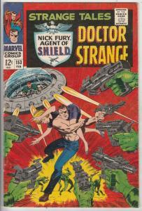 Strange Tales #153 (Feb-67) VF/NM High-Grade Nick Fury, Dr. Strange