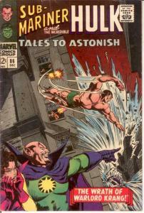 TALES TO ASTONISH 86 VG Dec. 1966 COMICS BOOK