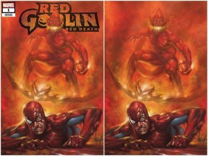 Red Goblin Red Death #1 Lucio Parrillo Virgin Variant Set
