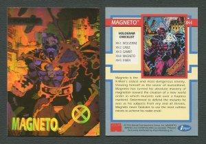 1992 Marvel Impel Wolverine & Magneto Hologram Insert  Set  NM