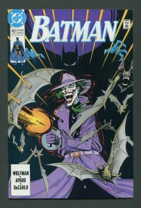 Batman #451 / 9.6 NM+  (Joker)  July 1990