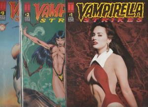 Vampirella Strikes Set #1to7 (Sep-95) NM Super-High-Grade Vampirella