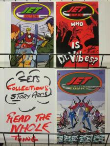 JET COMICS (1997-1998 AMAZE INK) 1-3