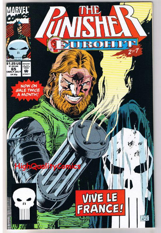 PUNISHER #65, NM, Al Williamson, French Connections, more in store
