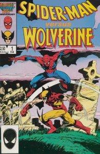 Spider-Man vs. Wolverine #1 VF; Marvel | we combine shipping