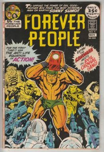 Forever People #5 (Nov-71) VF+ High-Grade Big Bear, Beautiful Dreamer, Serifi...