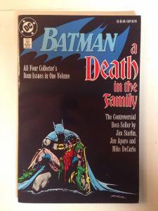Batman A Death In The Family Tpb Near Mint Starlin Aparo Decarlo