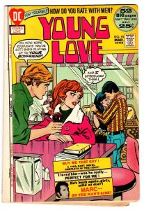 Young Love #93 comic book-Soda shop cover-DC Romance