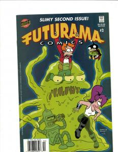 10 Comics Futurama #2, Simpsons, Itchy #3, Hopsters #1, The Crow #2 +++ J344