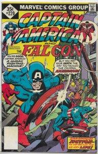 Captain America   vol. 1   #220 VG (and the Falcon) Glut/Sal Buscema