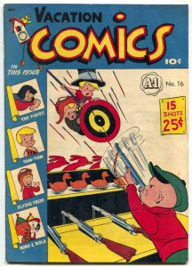 Vacation Comics #1 1948- A-1 Comics #16- Pixies- Mighty Atom F/VF