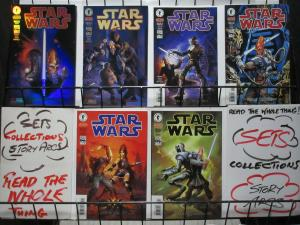 STAR WARS PRELUDE TO REBELLION (1999 DH) 1-6 CROME ED.!
