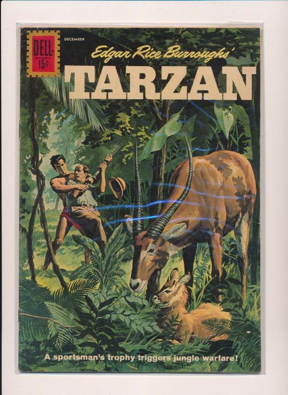 Dell Comics TARZAN #127 1961 VERY GOOD/FINE (SRU490)