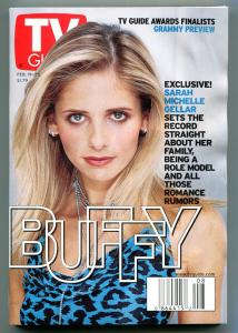 BUFFY the VAMPIRE SLAYER TV guide, February 19-25 2000, more in store