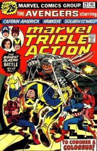 Marvel Triple Action (1972 series) #29, VF- (Stock photo)