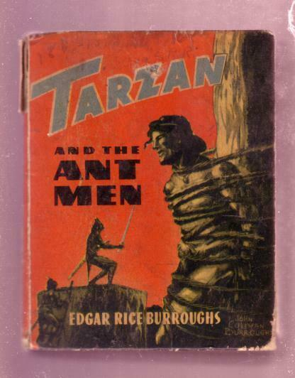 TARZAN, AND THE ANT MEN-1945 #1444 EDGAR RICE BURROUGHS VG