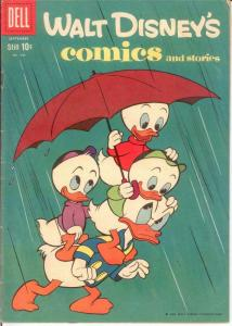 WALT DISNEYS COMICS & STORIES 240 VG Sept. 1960 COMICS BOOK
