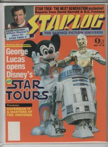 STARLOG MAGAZINE #118 NM- A04980