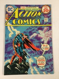 Action Comics 440 7.5 Vf- Very Fine- Dc Comicsbronze Age
