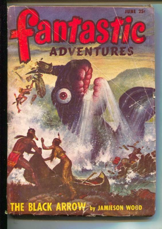 Fantastic Adventures-Pulp-6/1948-Jamison Wood-Frances Yerza