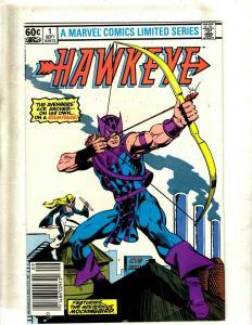 8 Comics Hawkeye 1-3 Hell's Angel 1 Gunhawks 1 Ghost Rider 26 27 NeXt 2 JF25