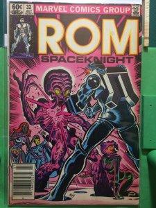 Rom Spaceknight #32 vs The Brotherhood of Evil Mutants