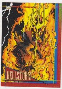 1993 Marvel Universe #53 Hellstorm