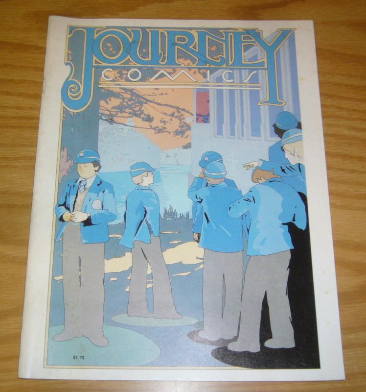 Journey Comics #1 FN (1st) printing - underground comix listed in kennedy guide