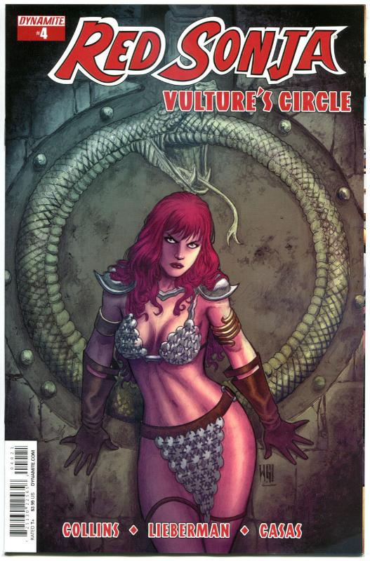 RED SONJA Vulture's Circle #4 B, NM-, She-Devil, Geovani, 2015,more RS in store