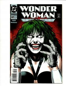 Wonder Woman # 97 NM 1st Print DC Comic Book Brian Bolland Joker Cover J371