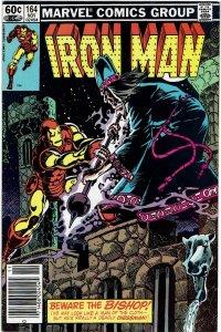Iron Man #164 (1968 v1) Denny O'Neil Chessmen FN+