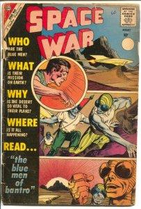 Space War #6 1960-Charlton-Steve Ditko cover & story art-G