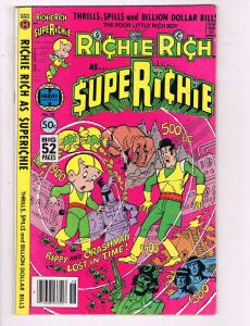 Richie Rich Superichie #18 VF Harvey World Comic Book DE7