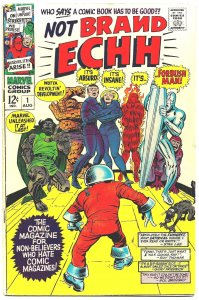 NOT BRAND ECHH #1 (Aug 1967) 5.5 FN-  MARVEL COMICS Spoofs Its Own Characters!