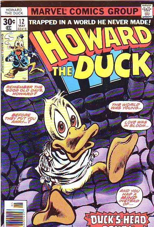 Howard the Duck #12 (May-77) NM Super-High-Grade Howard the Duck