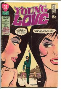 YOUNG LOVE #83-DC ROMANCE-GOOD ISSUE-GREAT COVER VG