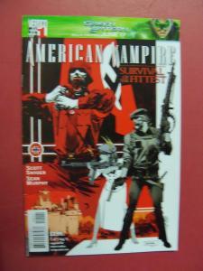 AMERICAN VAMPIRE, SURVIVAL OF THE FITTEST #1 OF 5   (9.0  VF/NM)  DC VERTIGO