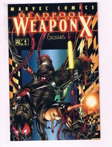 Deadpool # 4 (60) NM 1st Print Marvel Comic Book SIGNED By Georges Jeanty BN3